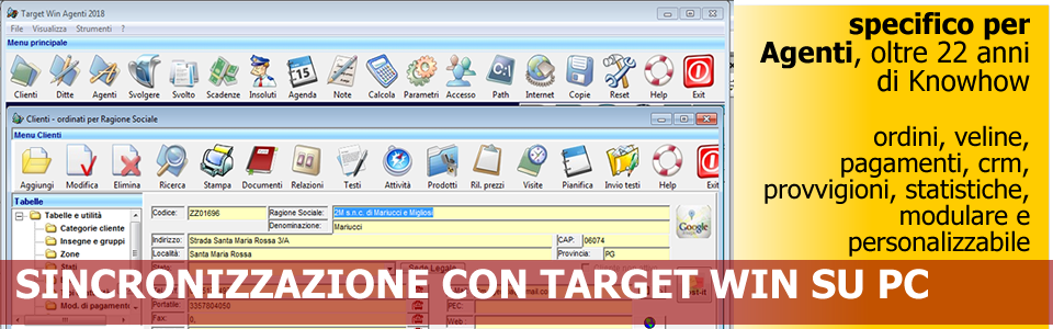 Software Specifico per Agenti